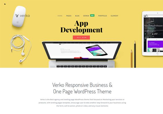 20 Mẫu theme website Digital Agency WordPress 2109