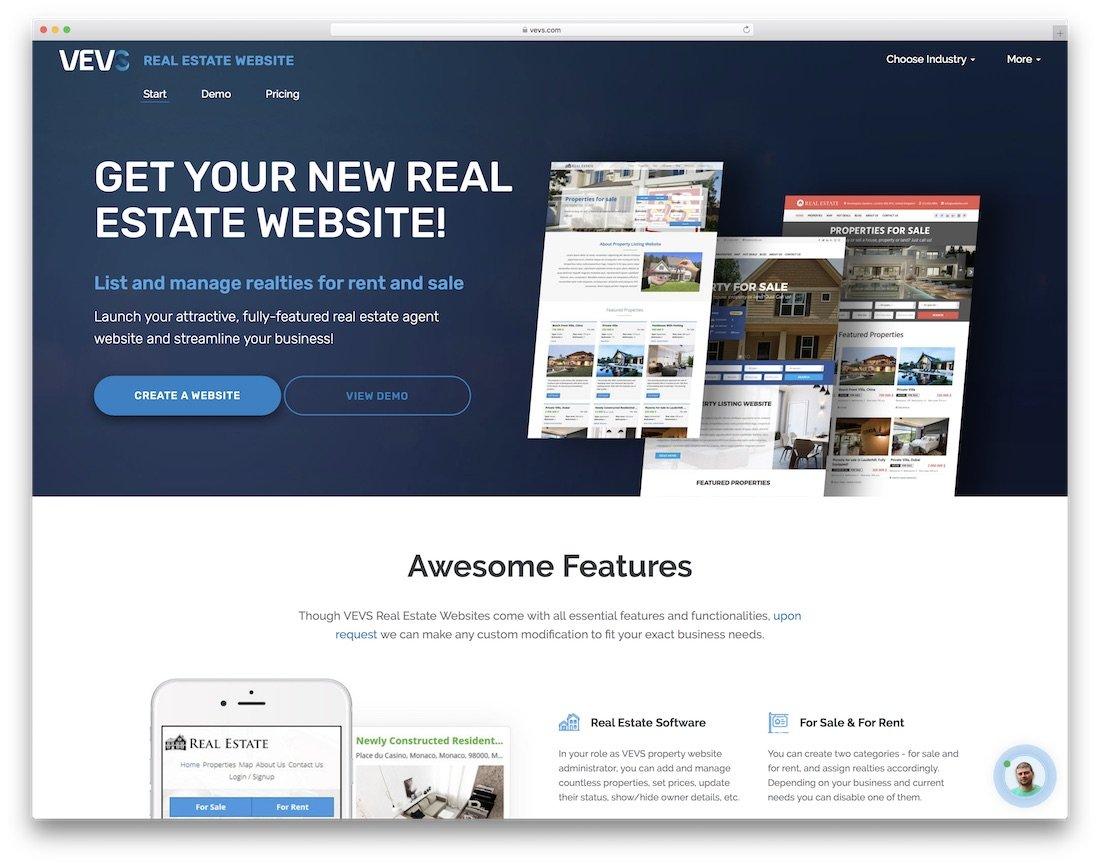 23 Theme thiết kế web bất động sản tốt nhất 2019 cho công ty và nhà môi giới