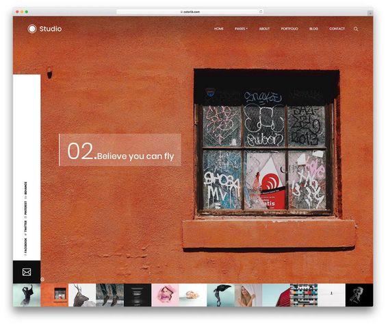 25 Theme Website nhiếp ảnh miễn phí 2019 dành cho nhiếp ảnh gia