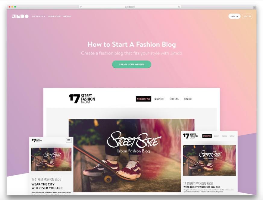 22 Theme website dành cho thương hiệu và các nhà thiết kế thời trang 2019